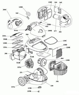 Ремонт двигателя пылесоса самсунг своими руками